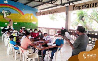 Mesoamerican Leadership School reactivates its training workshops in the Honduran Mosquitia