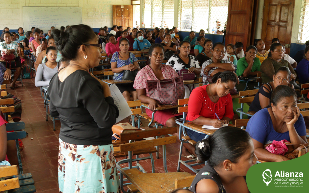 Mayangna women celebrate their first meeting focused on governance and current challenges
