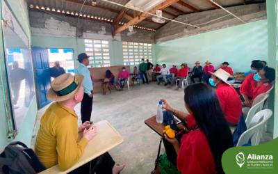 Mesoamerican Leadership School presents its training process to the General Guna Congress