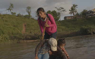 Indigenous women from Mesoamerica discuss possible risk management routes in the face of natural disasters caused by climate change