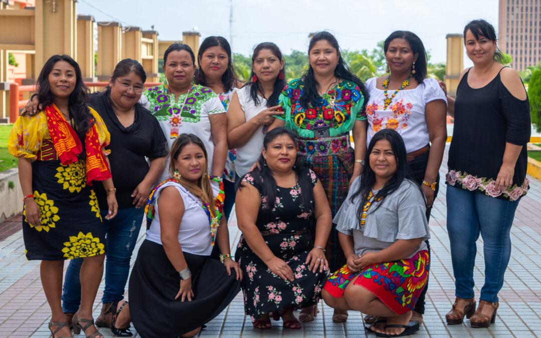 Lideresas territoriales mesoamericanas fortalecen su coordinación