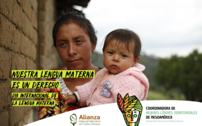 Lideresas territoriales se comprometen a trabajar por revitalización de lenguas maternas