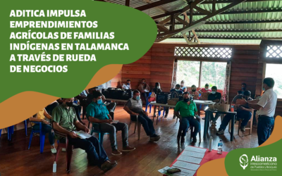 ADITICA impulsa emprendimientos agrícolas de familias indígenas en Talamanca a través de rueda de negocios