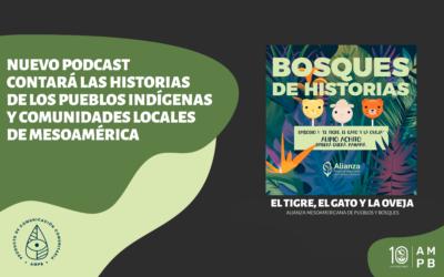 Nuevo podcast contará las historias de los pueblos indígenas y comunidades locales de Mesoamérica