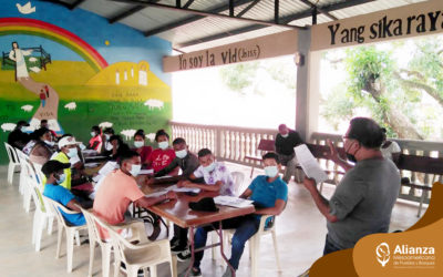 Escuela Mesoamericana de Liderazgo reactiva sus talleres de formación en la Mosquitia hondureña