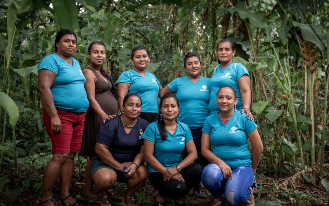 Asociación de mujeres indígenas Cabécar gana prestigioso Premio Ecuatorial