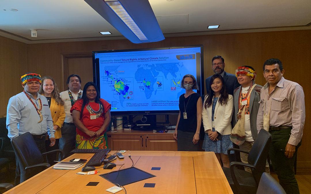 Alianza Global y Departamento de Estado de EEUU discuten las prioridades de los pueblos indígenas y comunidades locales
