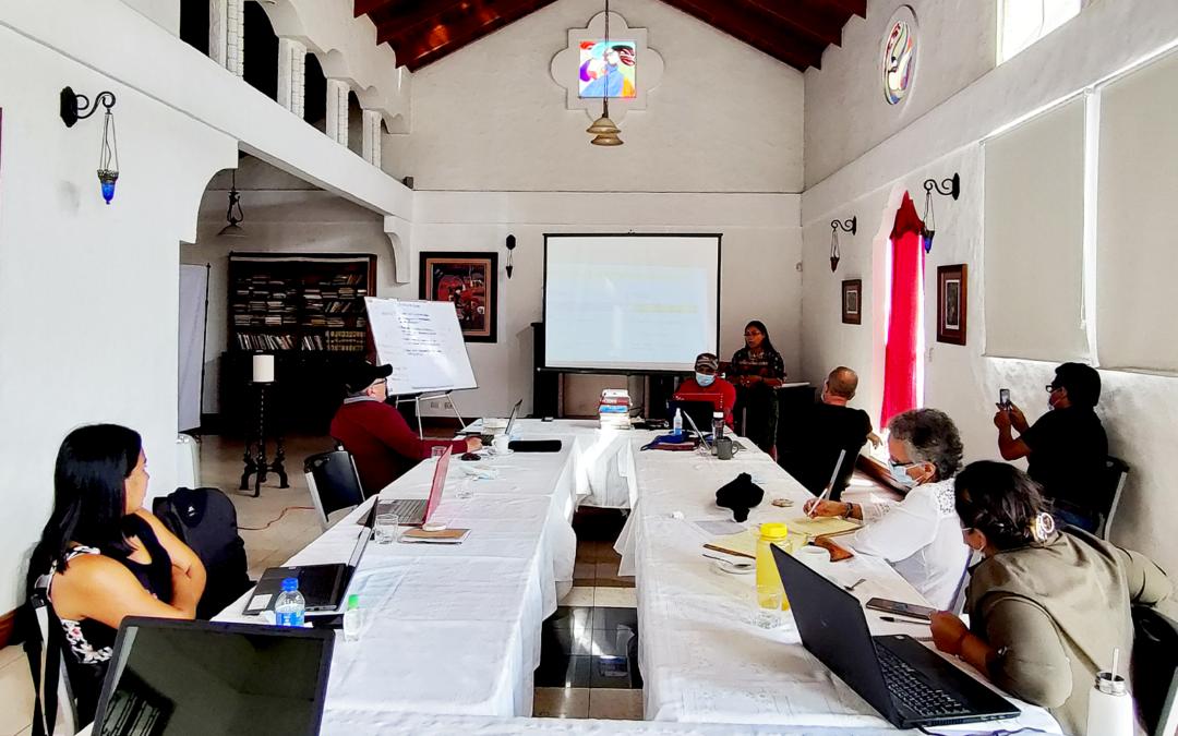 Experiencias compartidas construyen los siguientes pasos de implementación de la Escuela Mesoamericana de Liderazgo