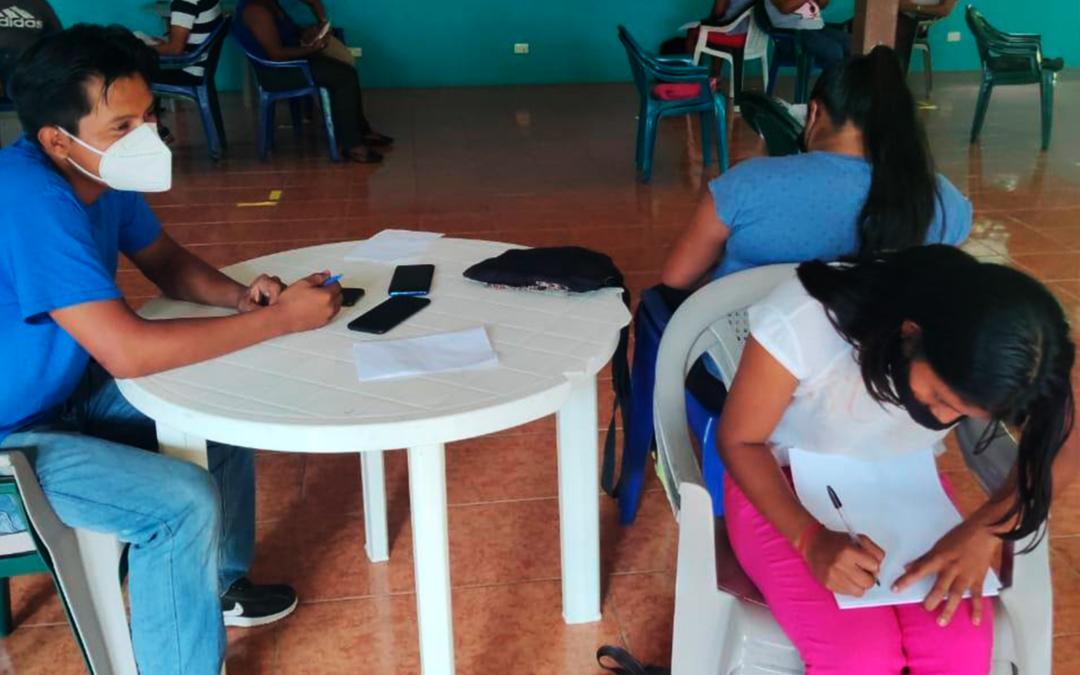 Grupo de jóvenes y mujeres de Talamanca inician formación en liderazgo para la incidencia territorial