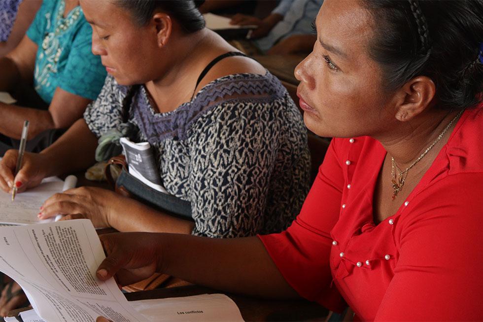 Inician talleres de formación en vocería para mujeres líderes indígenas y de comunidades forestales de Mesoamérica